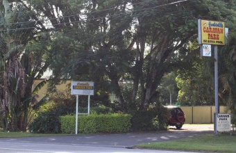 Huntsville Caravan Park Front Entrance