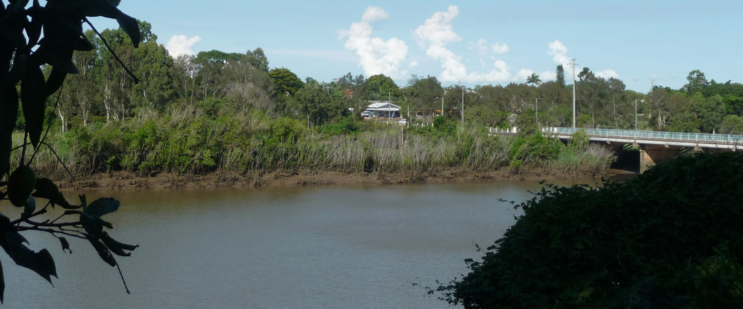 View of the Mary River from Huntsville Caravan Park